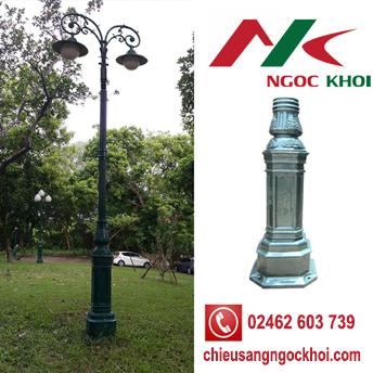 Cột DC05B lắp đèn sân vườn Mai Chiếu Thủy